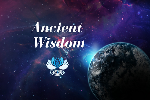 Ancient Wisdom Workshop