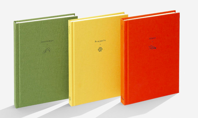 The School of Life linen-bound journals
