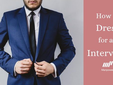 How to Dress for an Interview