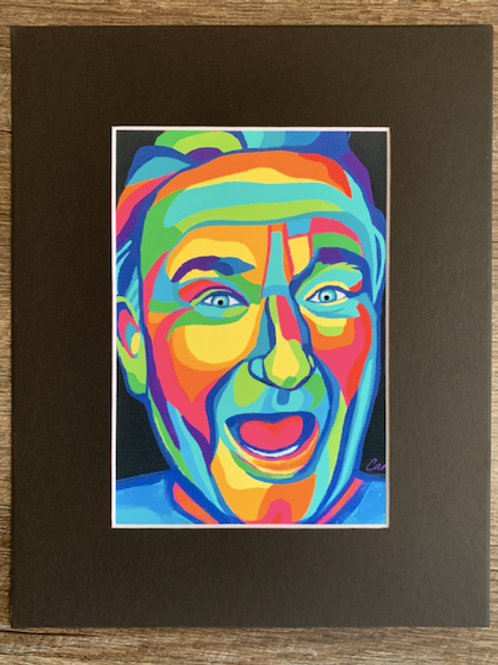 Robin Williams Matted Print