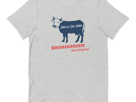 Snohomish T-Shirts - Smells Like Home