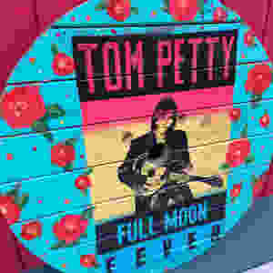 Tom Petty wooden spool top painting