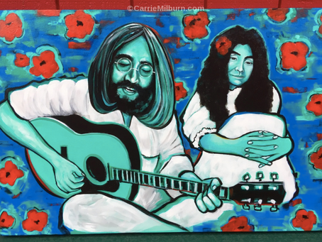 John Lennon Painting: All You Need Is Love