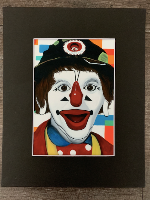 JP Patches Matted Print