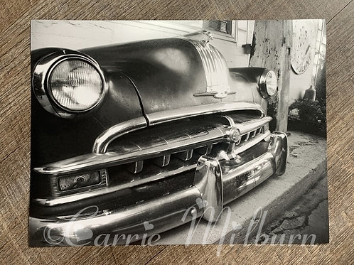 Vintage 50s Car Print