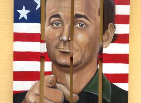 Bill Murray Painting: STRIPES
