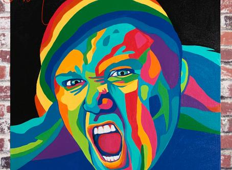 Sam Kinison Painting