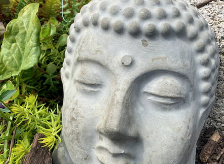 Cement Buddha for Garden