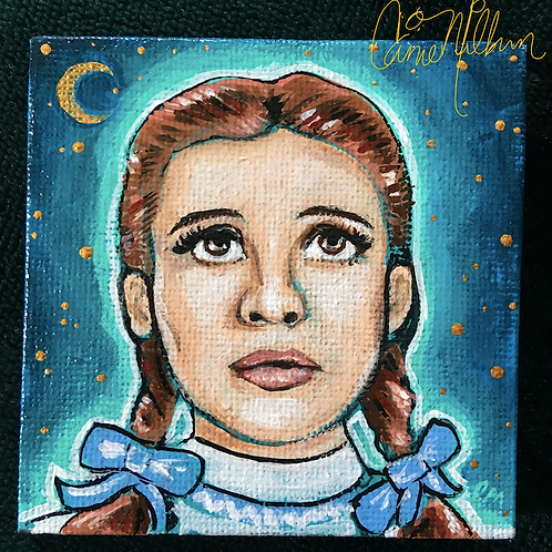 Dorothy of Oz Mini Painting 3""