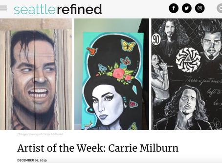 Seattle Refined's Artist of the Week
