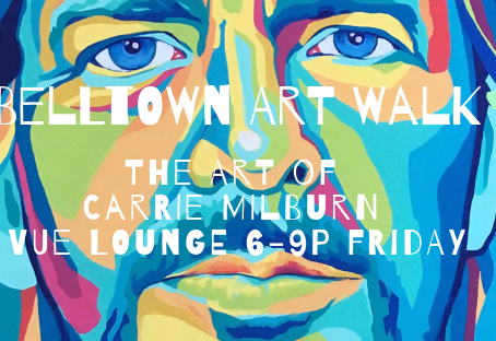 The Art of Carrie Milburn at VUE: Seattle's Belltown Art Walk 5/10