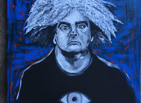 Buzz Osborne Painting (The Melvins)
