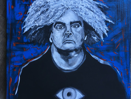 Buzz Osborne Painting (The Melvins)