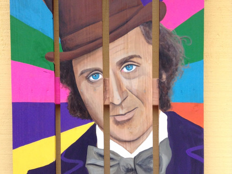 Willy Wonka/ Gene Wilder Painting