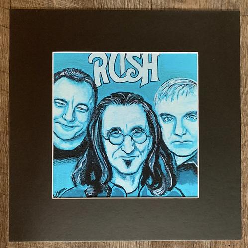RUSH Matted Print