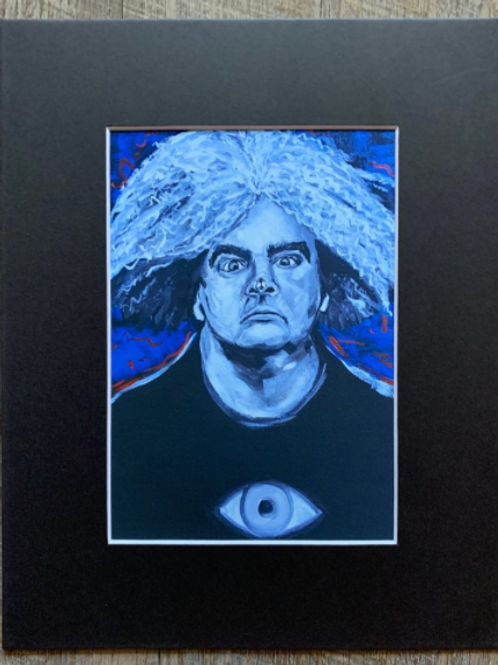 King Buzzo Matted Print