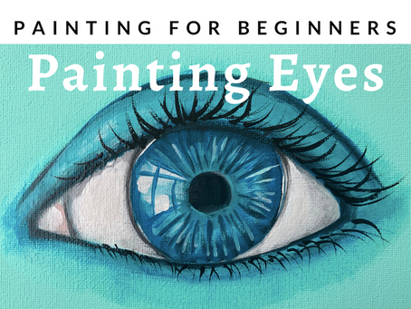 Eye Painting Tutorial: Easy for Beginners