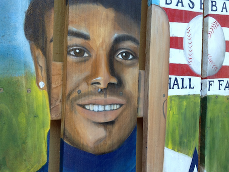 Ken Griffey Jr. Painting