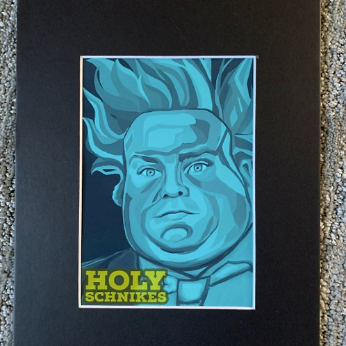 Holy Schnikes Print