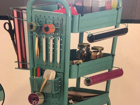 Art Supply Review: Michael's Gramercy Cart $50
