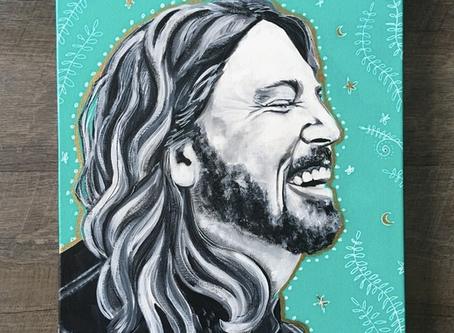 Dave Grohl Original Painting