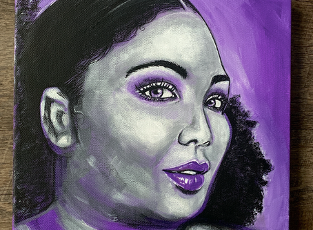 Lizzo Original Painting on Canvas