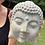 "Thumbnail: Sleeping Buddha, 8"" Cement"