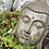 "Thumbnail: Sleeping Buddha 10"" Cement"