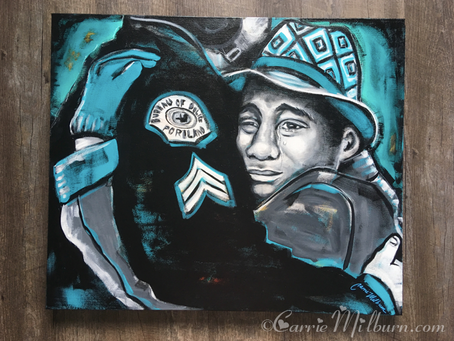 "Devonte Hart Painting ""Free Hugs"": Charity Auction"