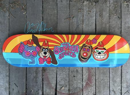 More Skateboard Art by Carrie Milburn