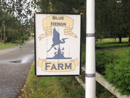 Vintage Inspired Farm Sign