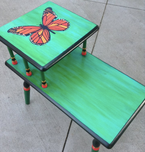 Vintage Table Painted by Carrie Milburn