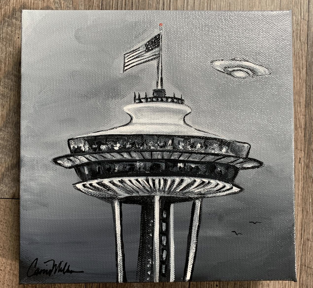 spaceneedle-ufo