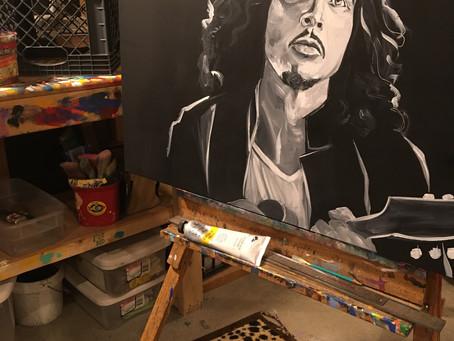May's Artwork in Progress: Chris Cornell