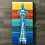 Thumbnail: Seattle Space Needle Original Painting 12x24""