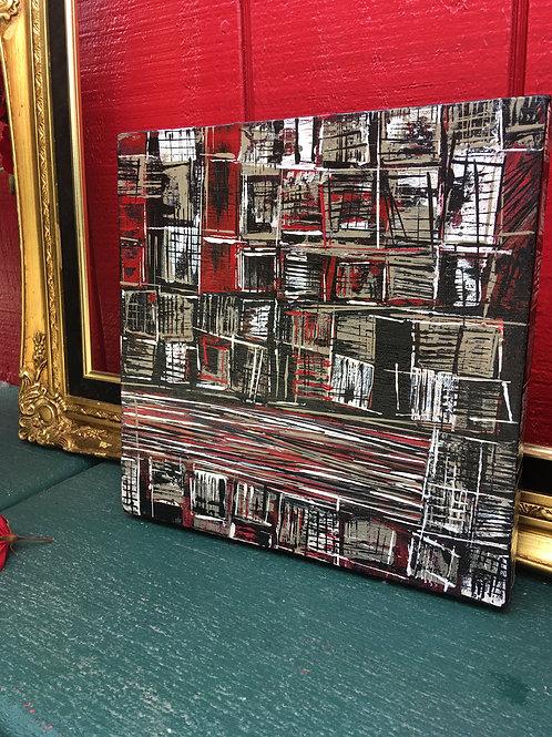 "Abstract Art, 10x10"""
