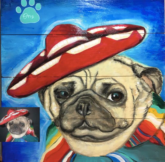 dog-portrait-painting