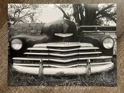 Vintage 50s Car Photograph
