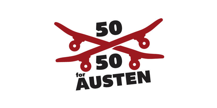 50 50 for AUSTEN Charity Event
