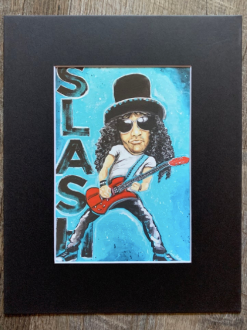 Slash Matted Print