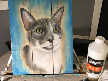 My First Cat Portrait