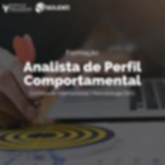 Formação Analista de Perfil Comportament