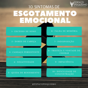 esgotamento emocional