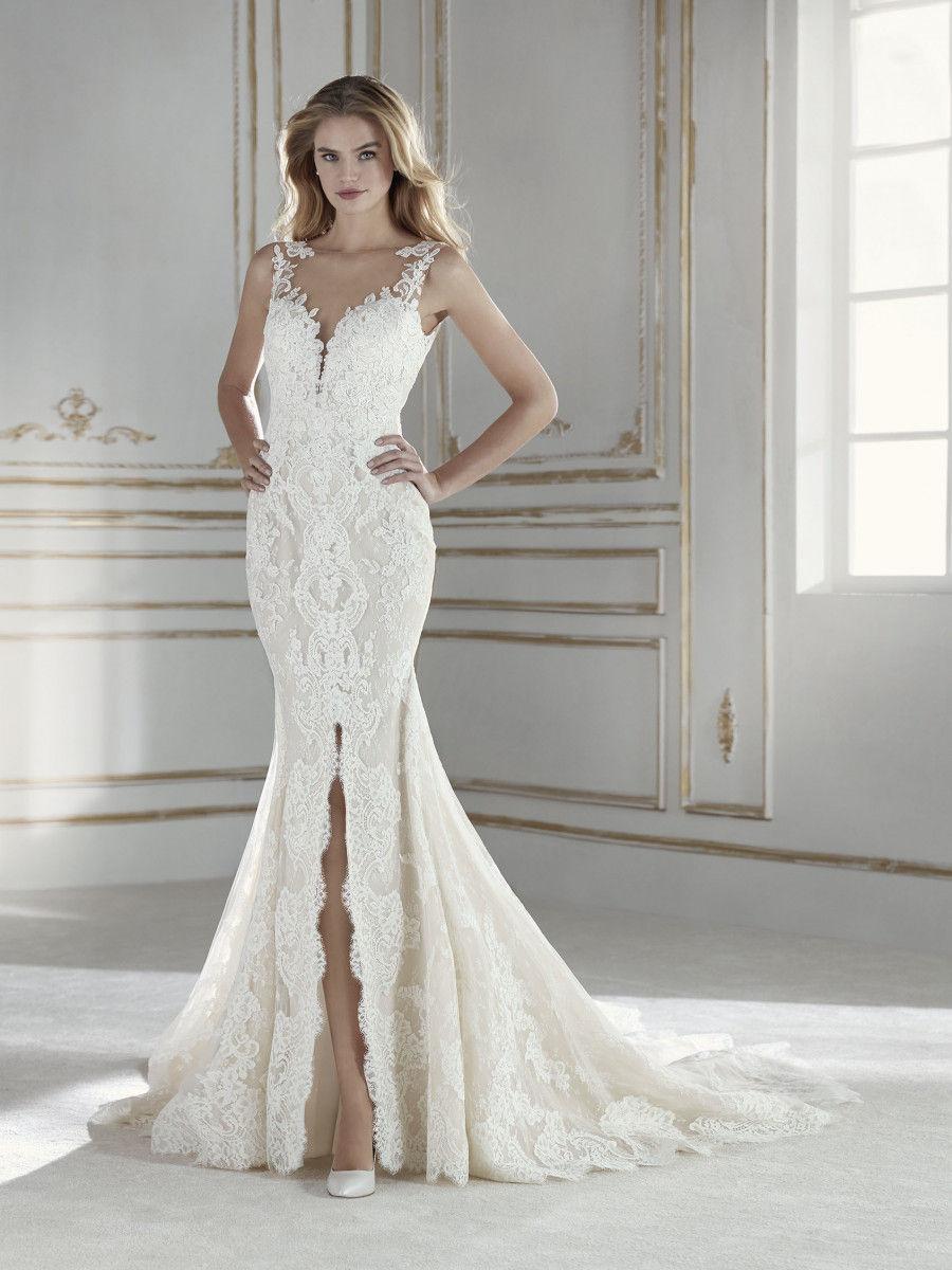 Y con tu vestido de novia tu estaras