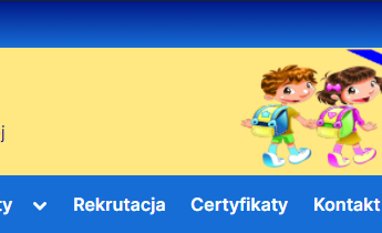 Nowa strona szkoły