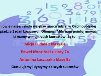 Gratulujemy sukcesu!!!