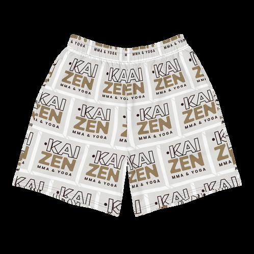 Men's Kaizen Pattern Shorts: Athletic Long Wear