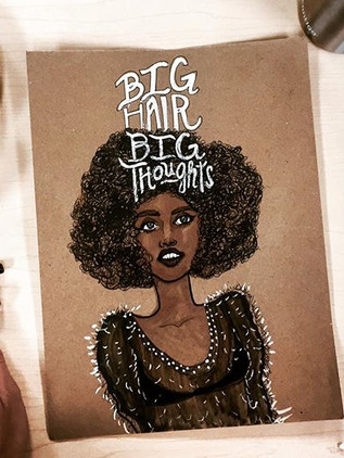 What They Say About Big Hair.