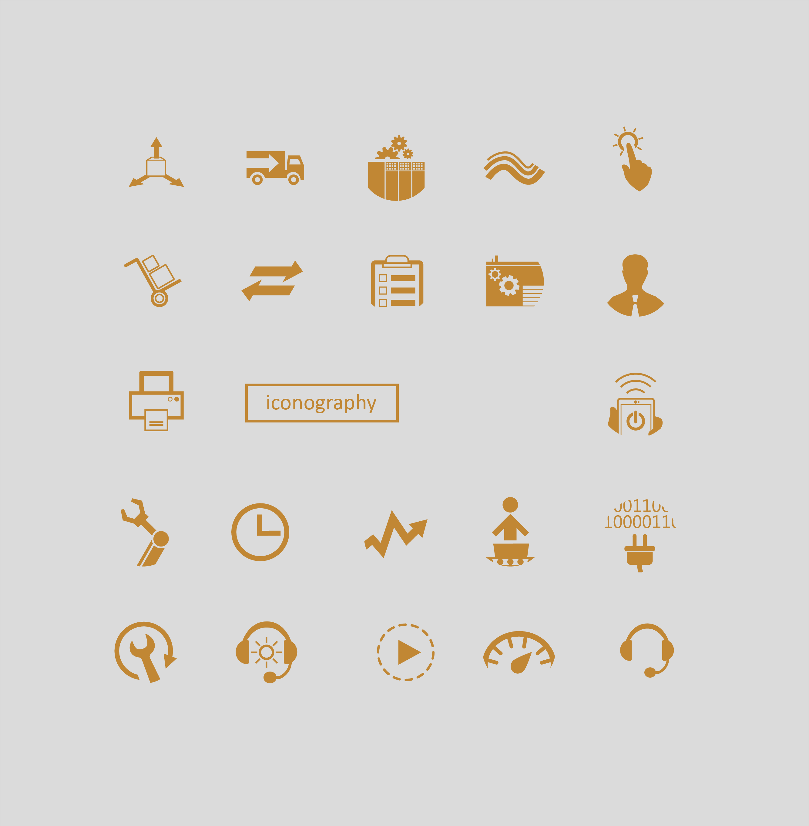 Graphic Illustrations: Iconography