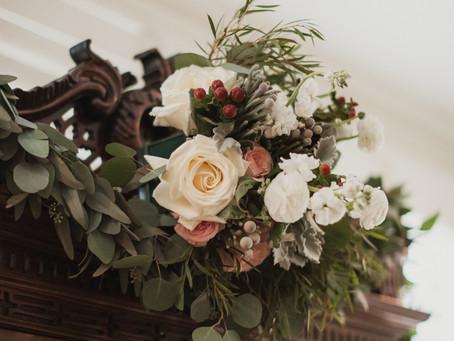 Floral Arrangements at Greencroft Club